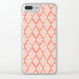 Diamond In The Rough Clear iPhone Case