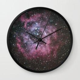 Rosette Nebula Wall Clock