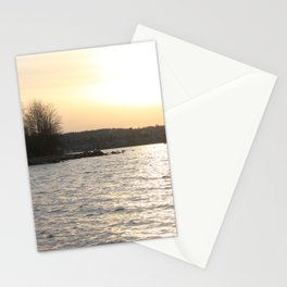 Kits Beach Sunset 2 Stationery Cards