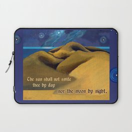 Nor The Moon By Night Laptop Sleeve