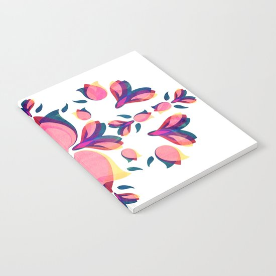 Tulip Pattern Notebook