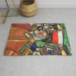 Marc Chagall Soldiers Rug