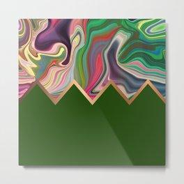 Green Razz Metal Print