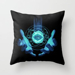 Virtual Reality Check Throw Pillow