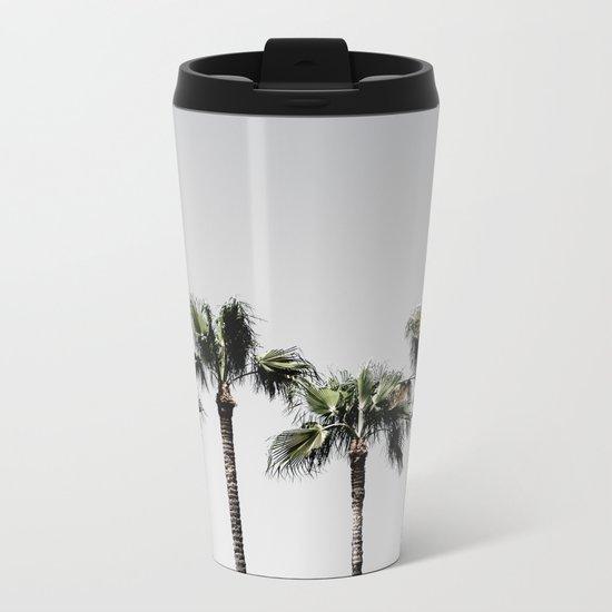 Palm Trees 5 Metal Travel Mug