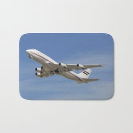 Dubai Air Wing 747-422 A6-HRM Bath Mat