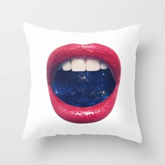 A Taste of Space Throw Pillow