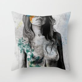 To The Marrow Throw Pillow