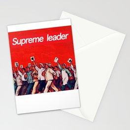 RED REVOLUTION Stationery Cards