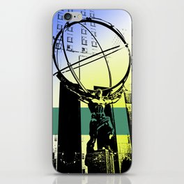 Atlas iPhone Skin