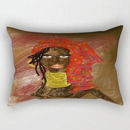LA MUJER AFRICANA Rectangular Pillow