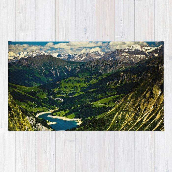 Swiss Alps Rug