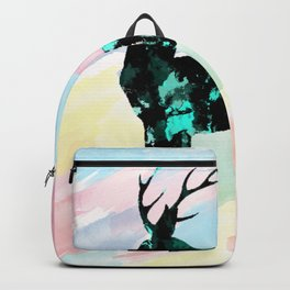 Abstract Deer Backpack