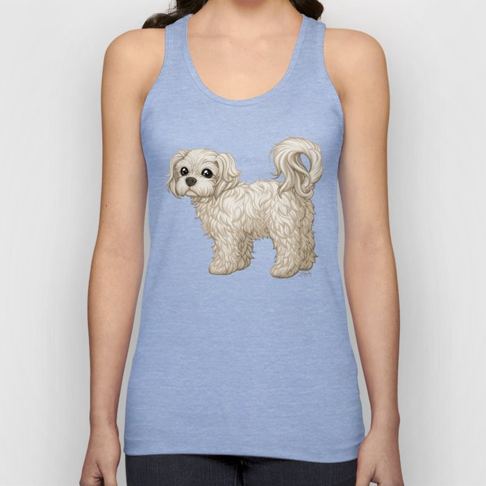 Sushi is a Sweet Ball of Fluff Unisex Tank Top