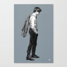 Come Along Pond - Doctor Who Canvas Print