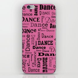 Just Dance - Pink iPhone Skin