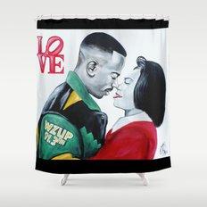 Black Love - Martin & Gina Shower Curtain