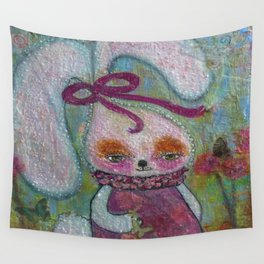 Tabitha Rabbit - Whimsies of Light Children Series Wall Tapestry