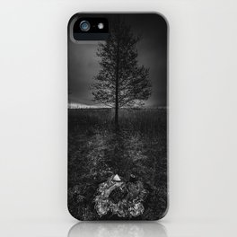 On the wrong side of the lake 3 iPhone Case