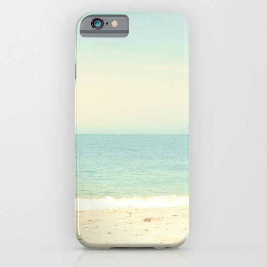 Pastel Retro Beach  iPhone & iPod Case