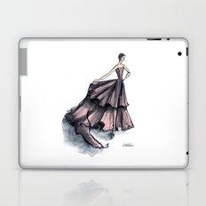 Audrey Hepburn in Pink dress vintage fashion Laptop & iPad Skin