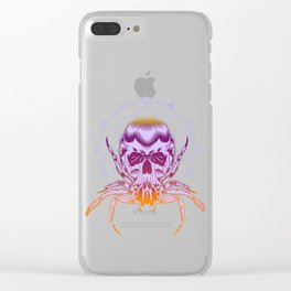 The Crab Zodiak Sign Clear iPhone Case