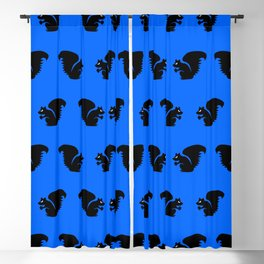 Angry Animals: Squirrel Blackout Curtain