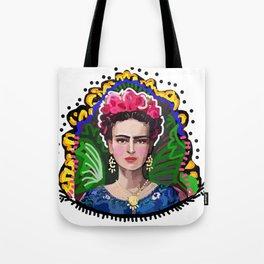 Graphic Frida Tote Bag