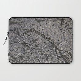 Paris city map Laptop Sleeve