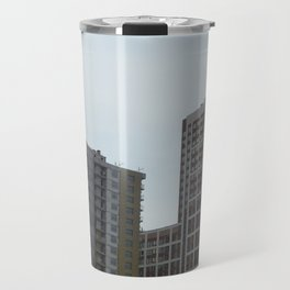 New construction of a new residential complex Travel Mug