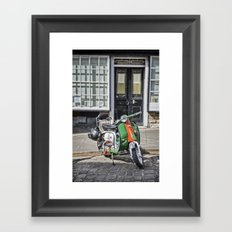 Lambretta Framed Art Print