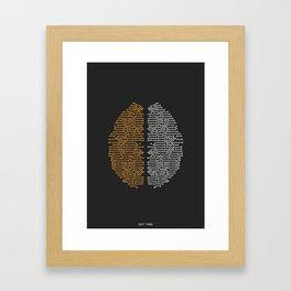Daft Punk Tribute Framed Art Print