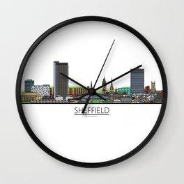 Sheffield Icons - Skyline Wall Clock
