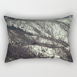 Snowy Mountains Rectangular Pillow