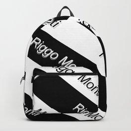 Riggo Monti Design #9 - Riggo Monti with Diagonal Stripes Backpack