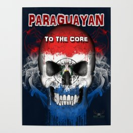 To The Core Collection: Paraguay Poster