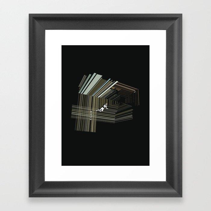 Interstellar Gerahmter Kunstdruck
