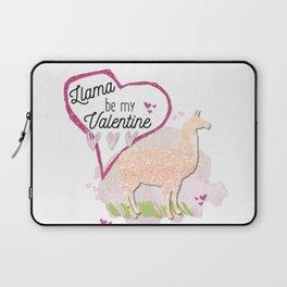Llama Be My Valentine? Laptop Sleeve