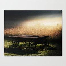 Sunrise on the Wagon Canvas Print