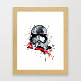 Phasma Framed Art Print