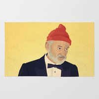 zissou Area & Throw Rugs featuring Zissou by Perry Misloski