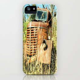 Antique Rusty Truck iPhone Case