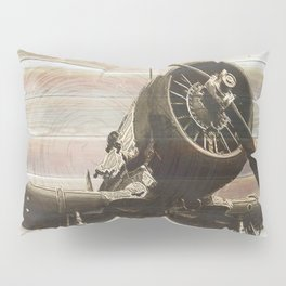Old airplane 2 Pillow Sham