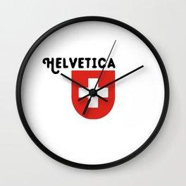Confoederatio Helvetica Wall Clock