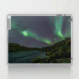 Godafoss Night 3 Laptop & iPad Skin