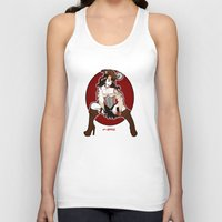 pirate Tank Tops featuring Pirate by AnnaCas