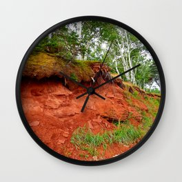 Under the Trees in PEI Wall Clock
