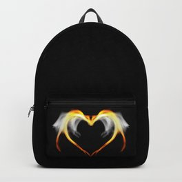The fire of love Backpack
