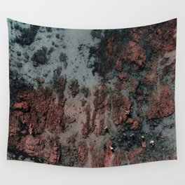 Walking on Mars Wall Tapestry