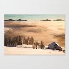 Nubes saltus Canvas Print